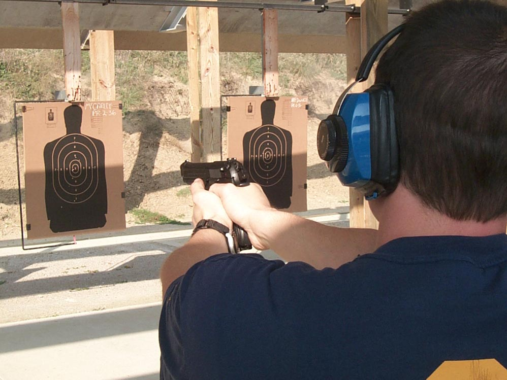 Navy SEALs Firearms training