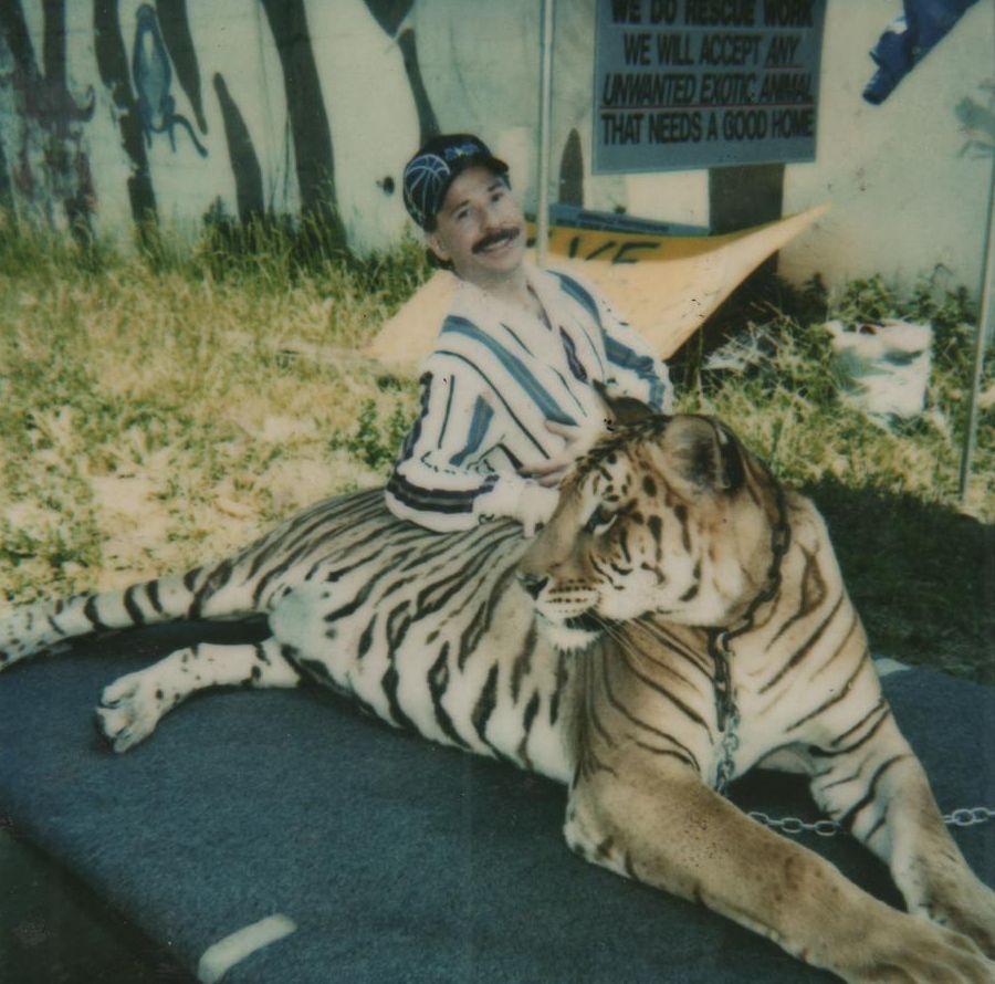 Greg Bravo and Tiger